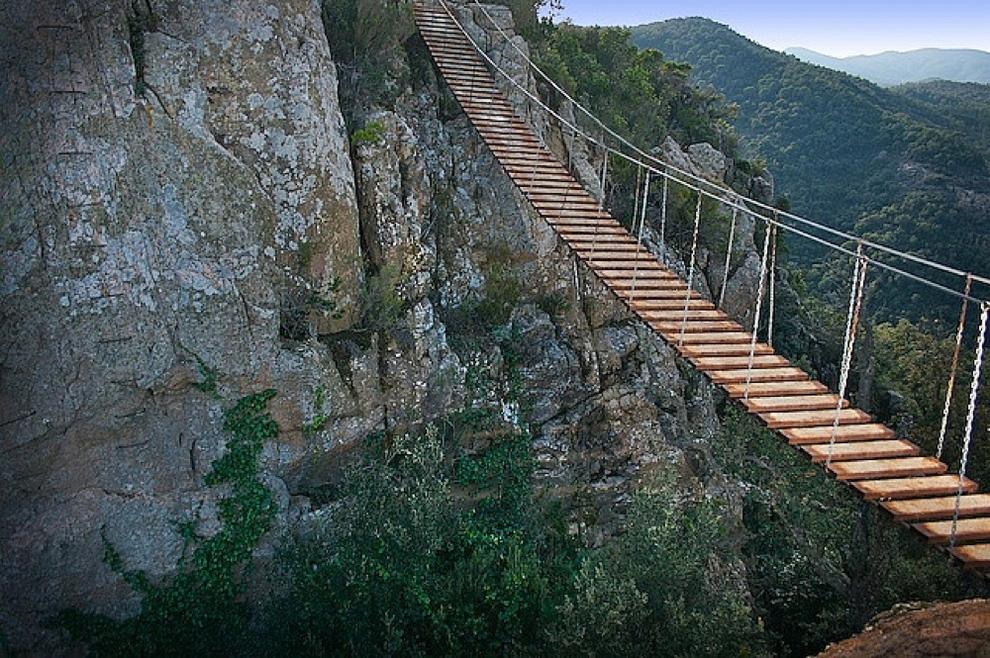 вообще, подвесные мосты в горах фото когда