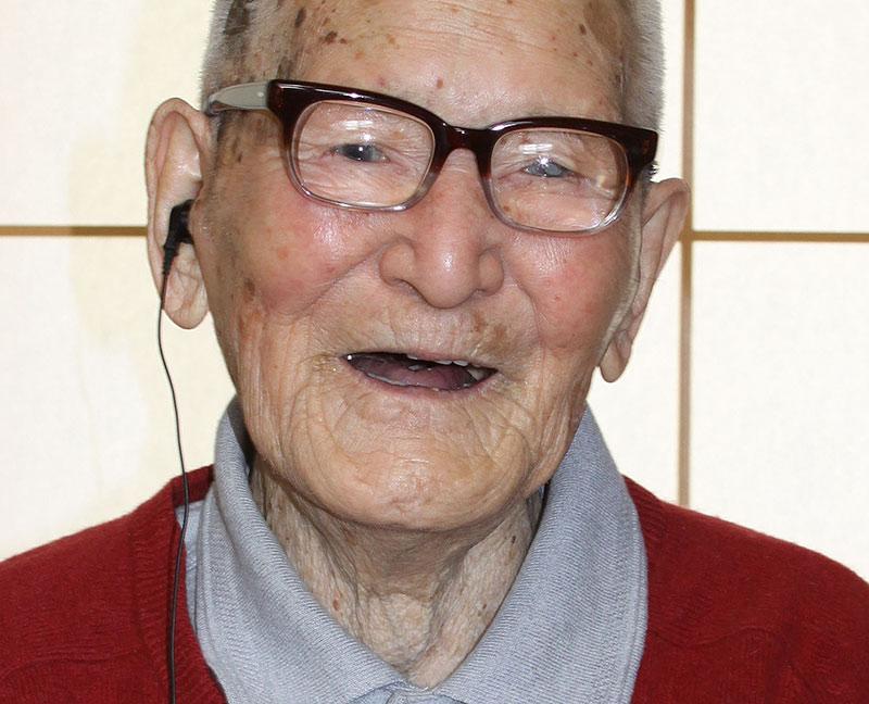 Самый старый человек на земле фото