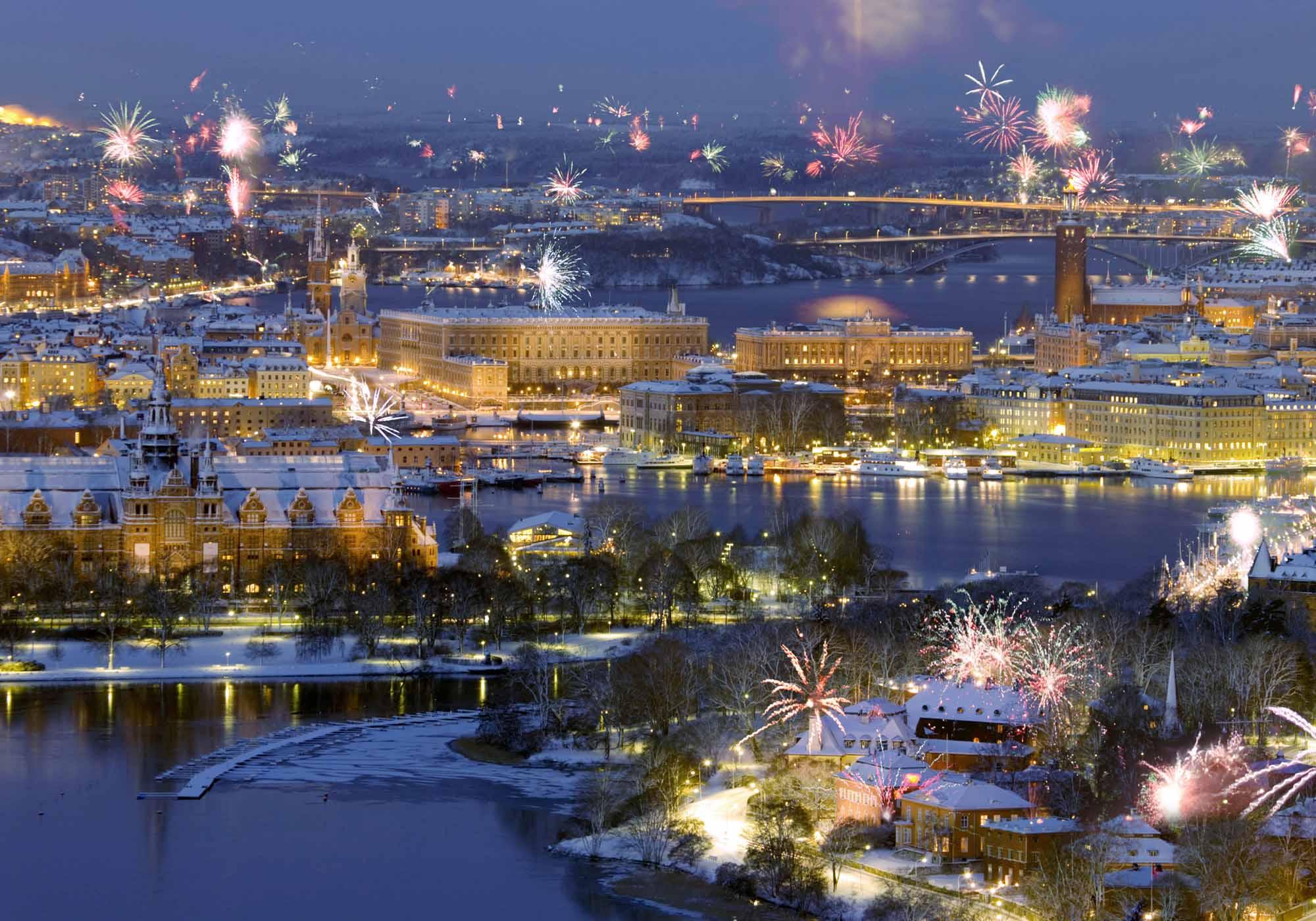 традиции,необычное, новый год, страны, мир