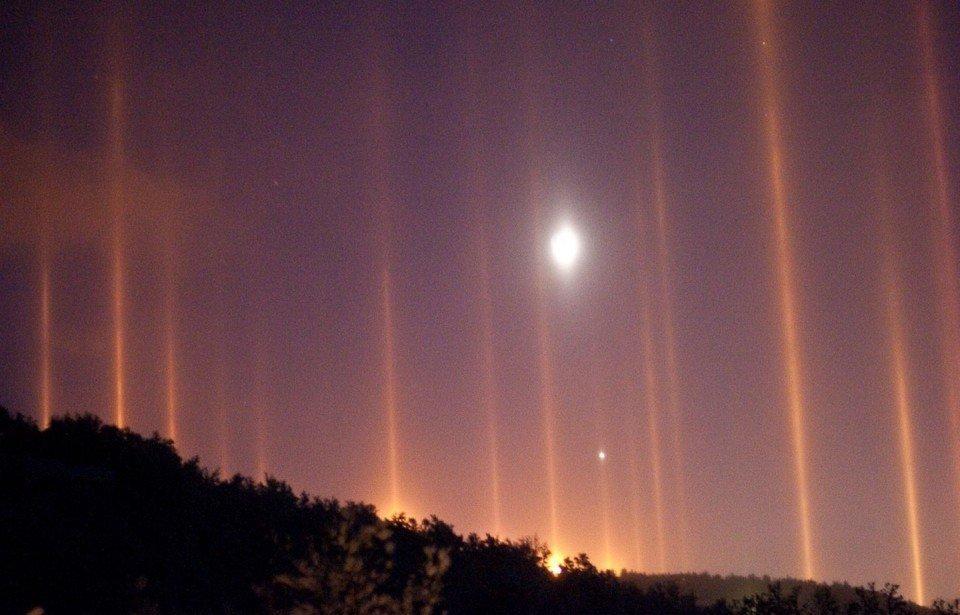 фото природных световых эффектов мероприятий реабилитационного