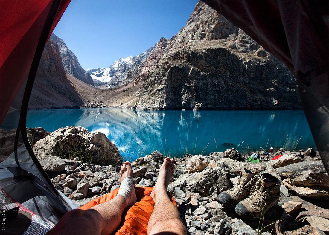 картинки вид из палатки тех, кто впервые