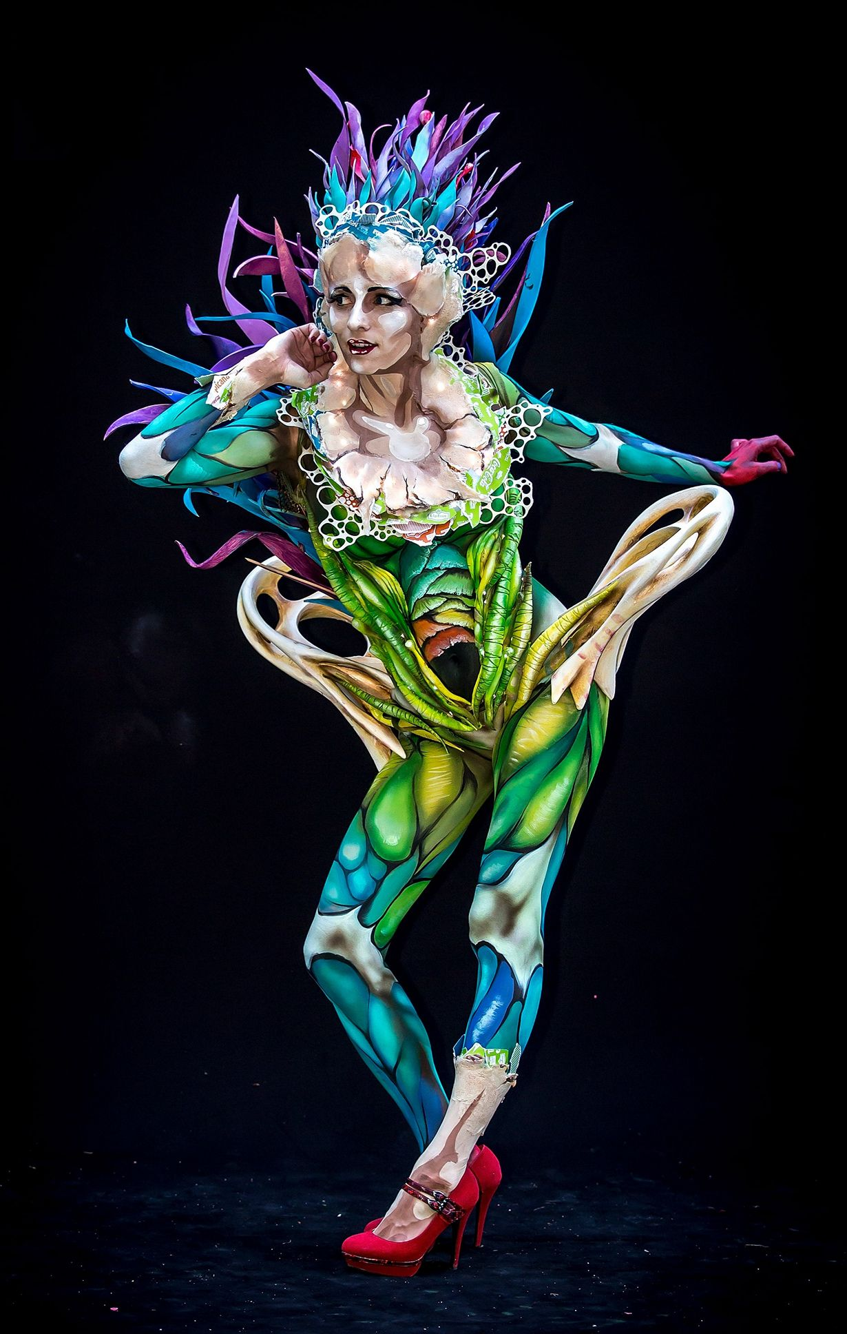фестиваль боди-арта, World bodypainting festival 2014