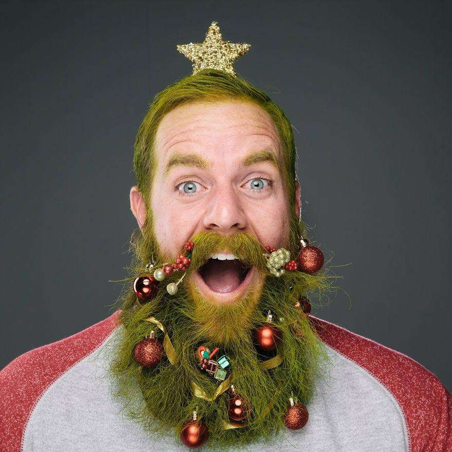 свои смешные рождественские фото простой поделкой
