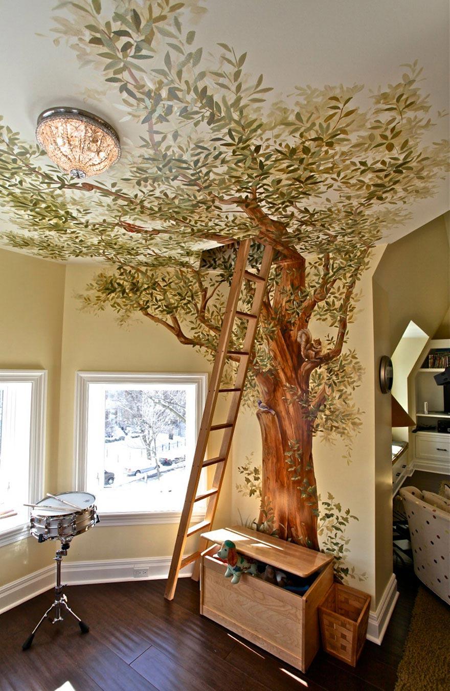 скачать рисунки на стенах в квартире фото идеи фото