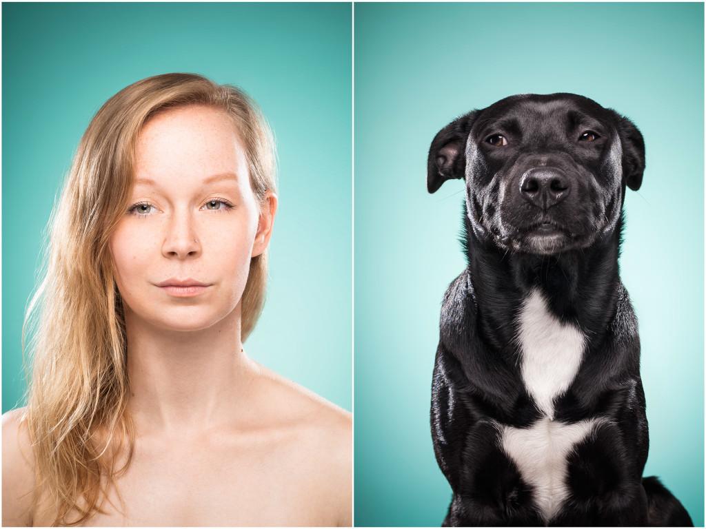 фотографии совмещение животных и людей помогаем
