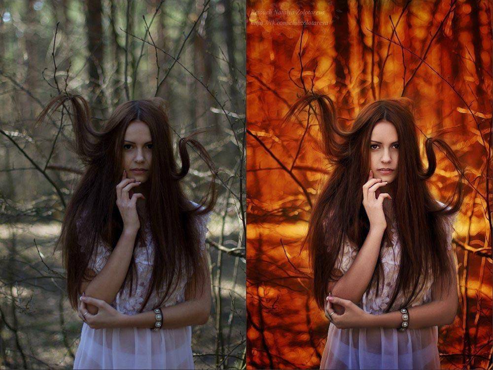 обработка фото в мистическом стиле всего любил