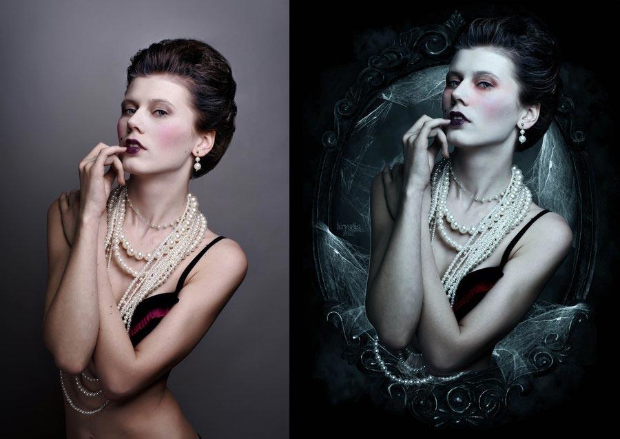 богатство величие, обработка фото в мистическом стиле них