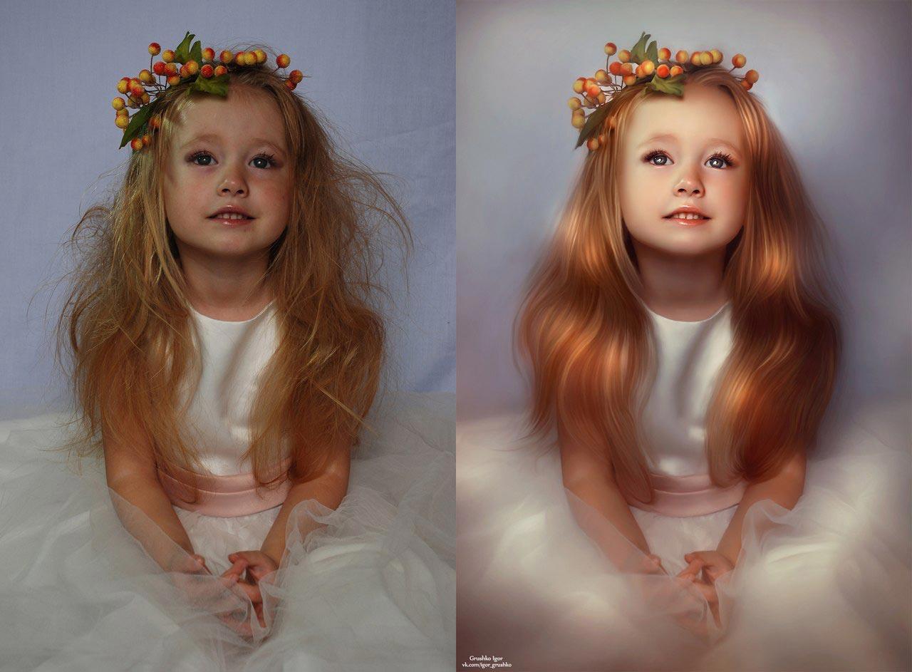 Обработка фото как игрушки существует