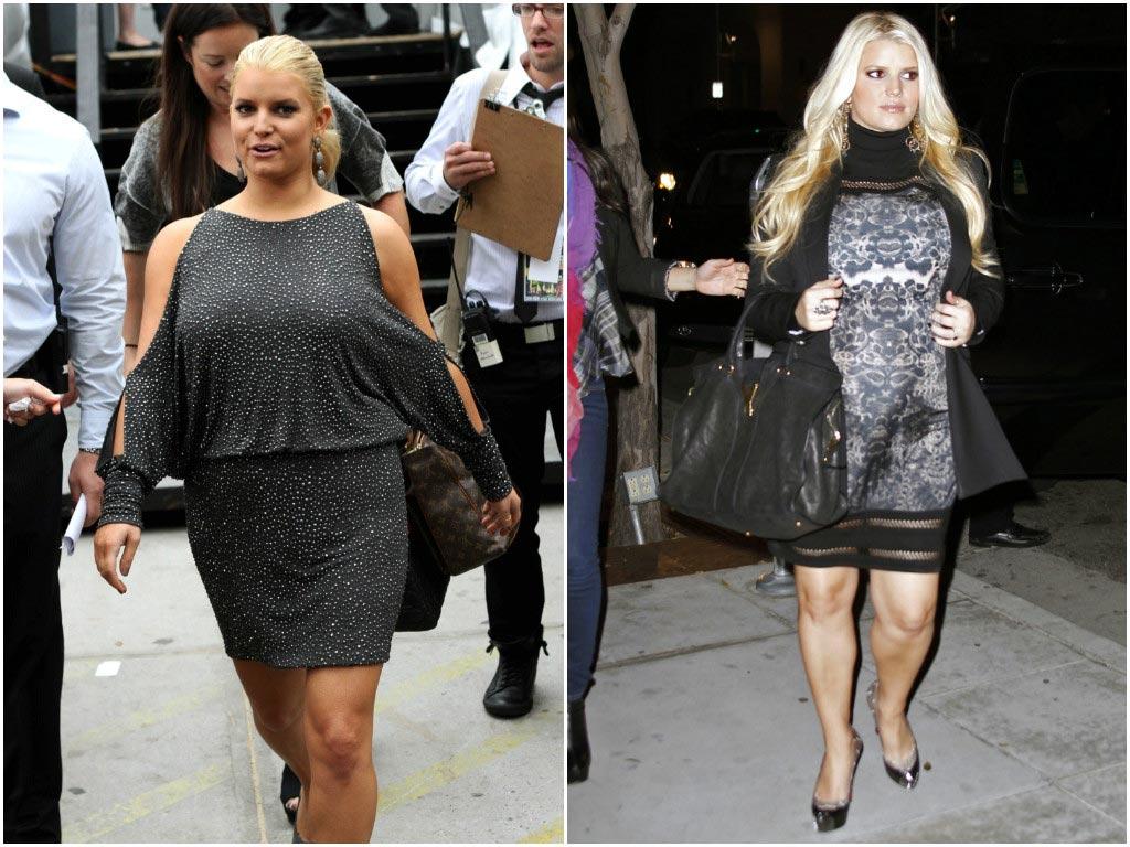 толстые звезды фото до и после