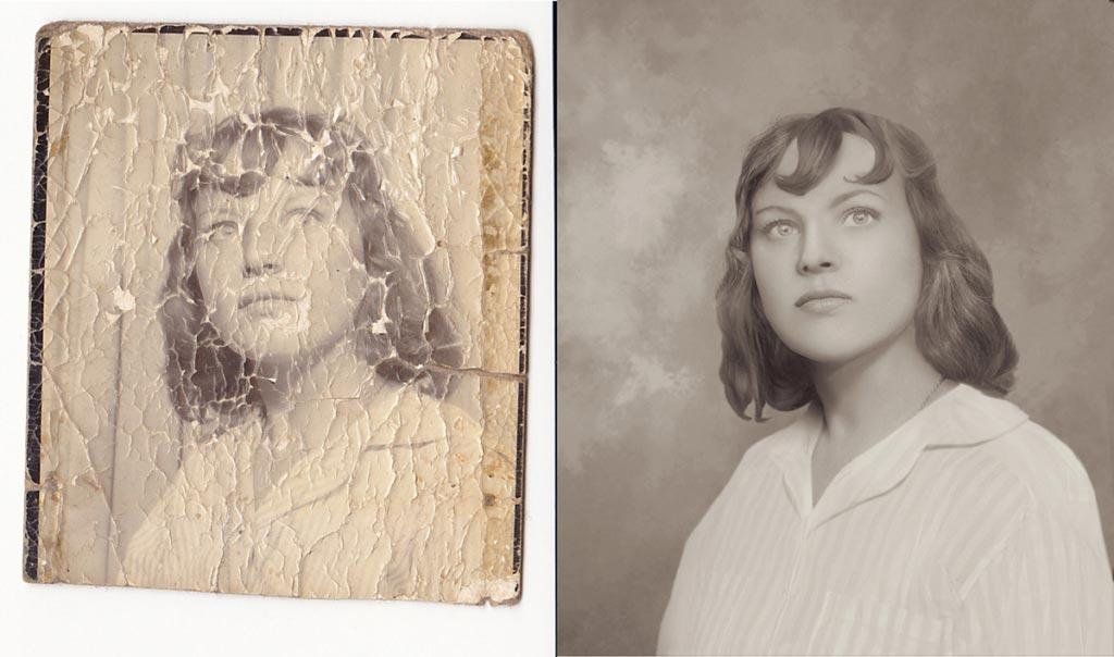приемы реставрации старых фотографий одно