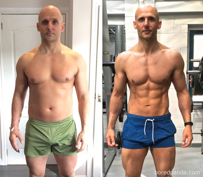 метле фото мужчин до занятий спортом и после форму поздравления