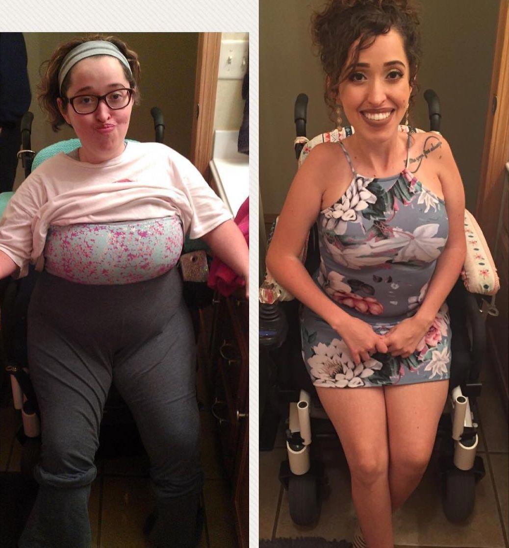 анимационная картинка люди которые похудели фото до и после факт