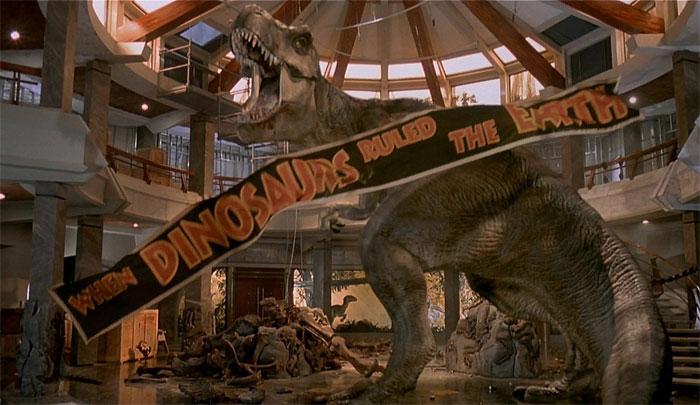 рев тираннозавра, Рёв Ти-Рекса, парк юрского периода