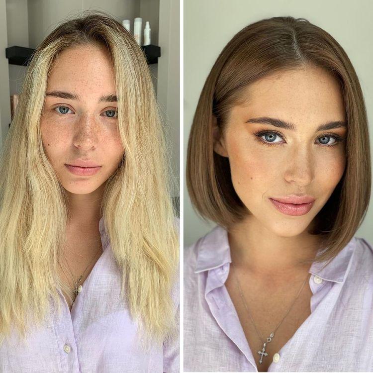 11 девушек помолодели на 10-15 лет, только лишь сменив цвет волос и прическу
