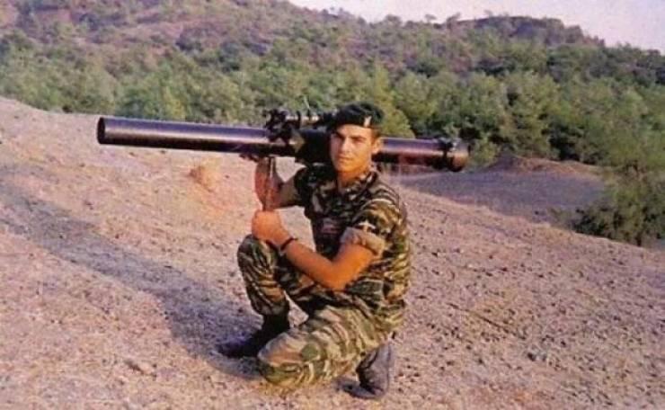 Манолис Бикакис, греческий Рэмбо, греческий спецназ