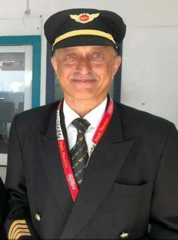 Дипак Сати, индийский пилот, пилот спас пассажиров