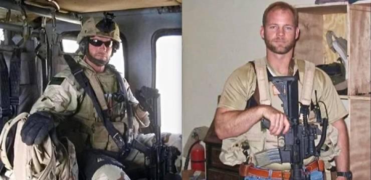 Майк Дэй,27 ранений, солдат убил террористов