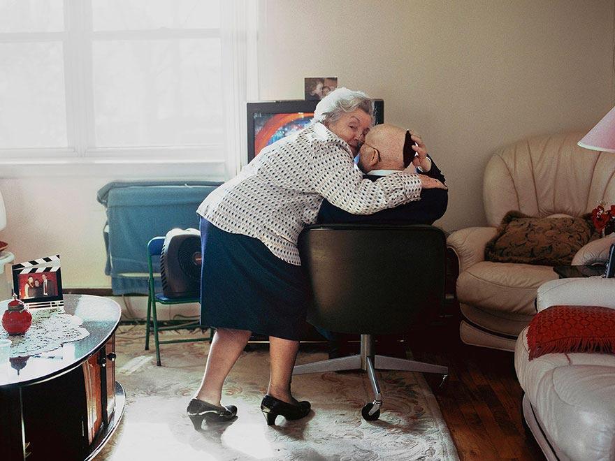 Лорен Флейшман, Lauren Fleishman, The Lovers, пожилые пары прожившие вместе более 50 лет